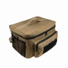 Medium Insulated Cooler Lunch Box With Molle/Pal Webbing/ Tan