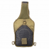 Shoulder Sling Utility Bag - Tan