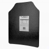 "UHMWPE Ballistic Plate - 11""X14"" - Curved STR's Cut"