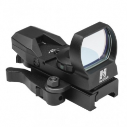 Red Four Reticle Reflex/ QR Mount/ Black