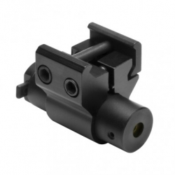 Compact Red Laser Sight With Weaver Mount/Black