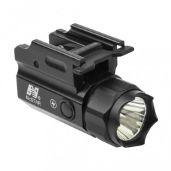 3W 150 Lumen LED Compact Flashlight Quick Release Mount/ With Strobe