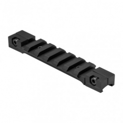 "3/8"" Dovetail To Picatinny Rail Adapter Mount/Black/Short"