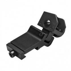 AR15 45 Degree Offset Flip-Up Rear Sight