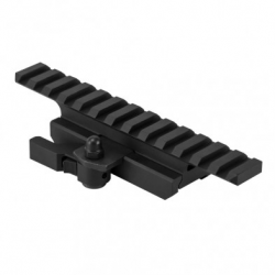 "Gen2 Ar15 3/4"" Picatinny Rail Riser Mount With Locking Quick Release Mount"