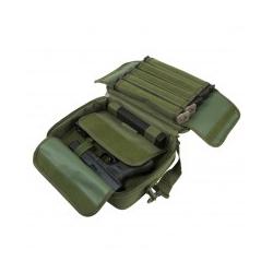 Double Pistol Range Bag/ Green