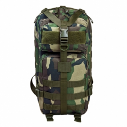 Small Backpack - Woodland Camo