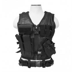 Tactical Vest [MED-2XL] - Black