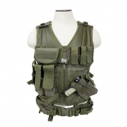 Tactical Vest [MED-2XL] - Green
