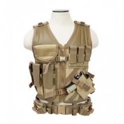 Tactical Vest [MED-2XL] - Tan