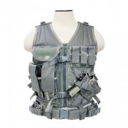 Tactical Vest [MED-2XL] - Digital Camo