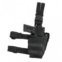 2955 Drop Leg Tactical Holster - Black