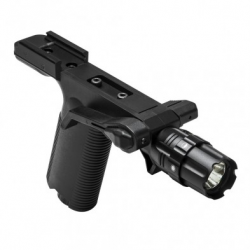 Vert Grip w/Strobe Flashlight - Picatinny