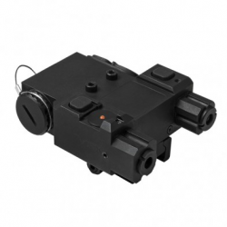 Green & Infrared Laser w/QR Mount/ BLACK