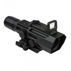 ADO 3-9X42 Scope w/Flip Up Red Dot Optic-Blk