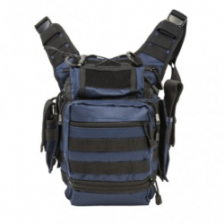 First Responders Utility Bag-Blue with Black