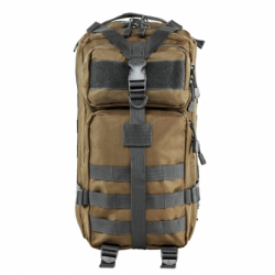 Small Backpack - Tan with Urban Gray Trim