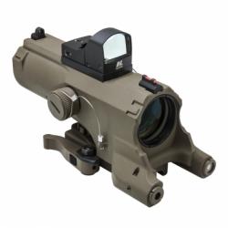 ECO 4XScope/Laser & NAV LED/Green Micro Dot/Tan (Build to Order)