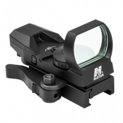 Blue Four Reticle Reflex/ QR Mount/ Black