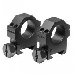 "30mm X 0.9""H HD Weaver Rings - Black"