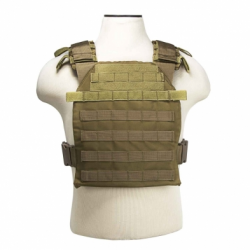 "VISM® by NcSTAR® FAST PLATE CARRIER 10""X12""/ TAN"