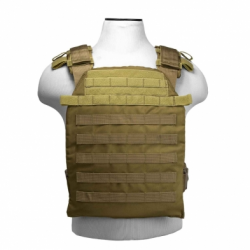 "VISM® by NcSTAR® FAST PLATE CARRIER 11""X14""/ TAN"
