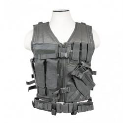 Tactical Vest [MED-2XL] - Urban Gray