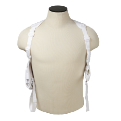 Ambidextrous Shoulder Holster - White