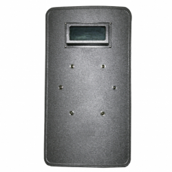 "20""W X 36""H Level IIIA Ballistic Shield with window"