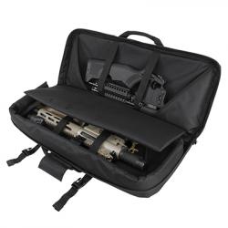 """32"""" Deluxe SubGun,AR & AK Pistol Case - Black"""