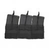 M1A Triple Mag Pouch - Black